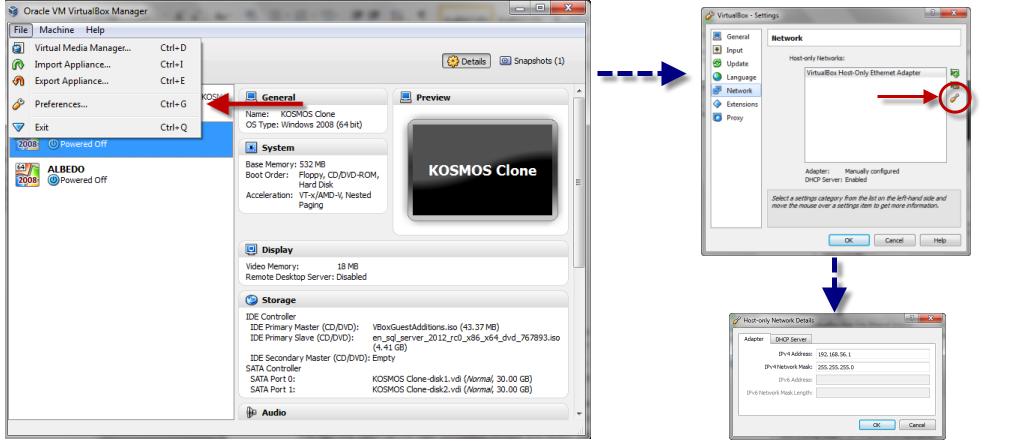 VirtualBox Networking   Art of the DBA
